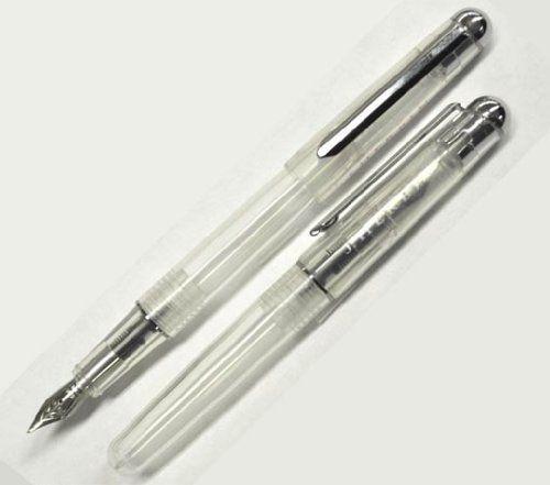 エルバン(J. Herbin)☆待望のタイプが安価に!★カートリッジインク用ペン 万年筆(スケルトン)★hb-pen06: 文房具・オフィス用品