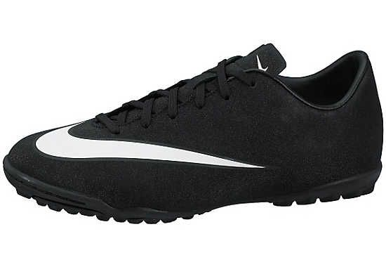 Nike Kids Mercurial CR7 Victory V Turf Soccer Shoes - Black and ...