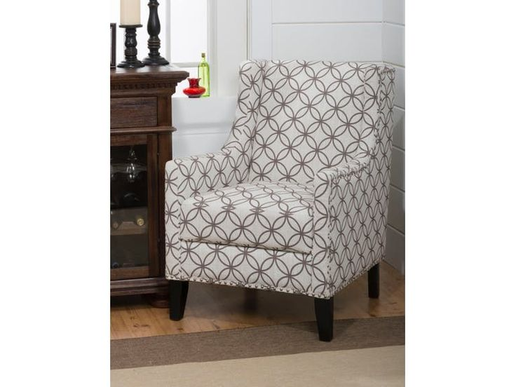 Keany & Co Accent Chair KNCBLAKECHSMOKE from Walter E. Smithe Furniture + Design