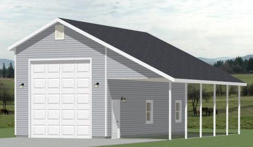 PDF Garage Plans With Rv Carport Plans Free
