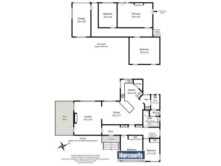 I particularly like the kitchen layout: 4 Murchison Highway, Somerset, Tas 7322