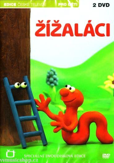 Večerníček České televize na DVD Žížaláci.