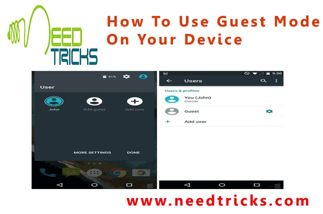 Guest mode is an application which makes it easier for your friend to share their videos and images or any kind of favourite media to your chromecast from any android or iOS device without connecting to your wifi network.Here we will clarify how you can setup Guest mode for Android phones.In this article we will tell you How To Use Guest Mode On Your Device.