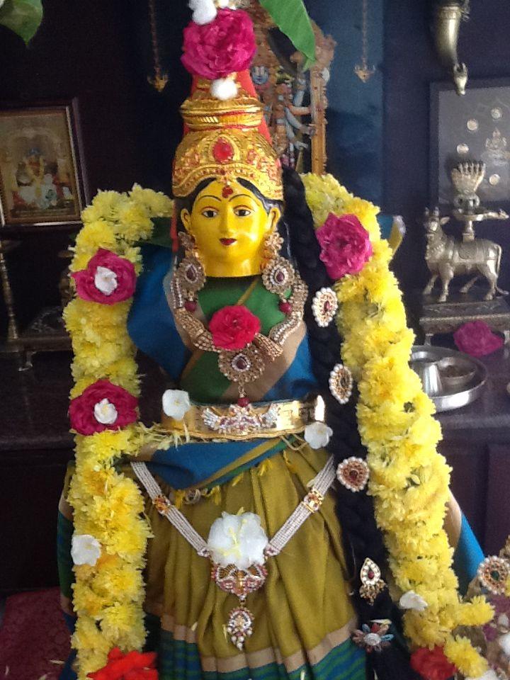 Varalakshmi Vratham Puja Decorations Pinterest Decoration And Ganesh