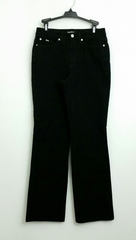 Cambio Jeans Pants Black Womens Size 8 #Cambio #Jeans