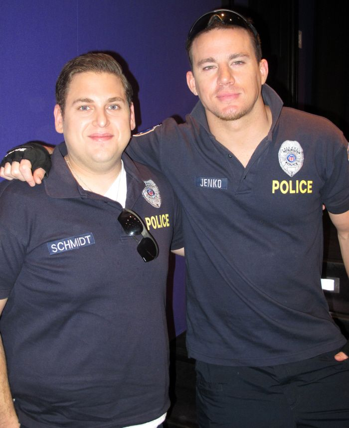 21 Jump Street. If Channing Tatum is in it, you bet your bottom dollar I'll be seeing that movie!