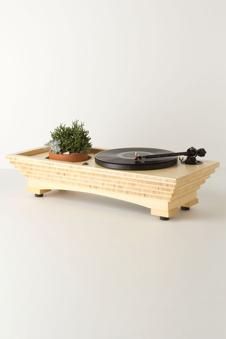 Well-Rooted Turntable - Anthropologie.com • Audio Engineering by Music Hall Audio USD $1600.00