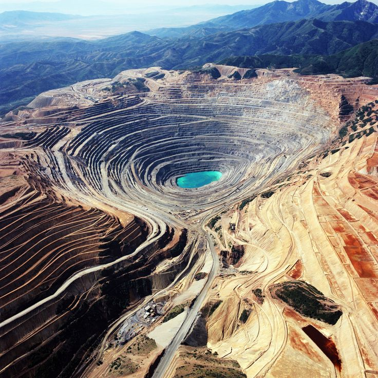 The Kennecott Utah Copper Mine