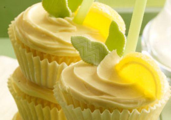 Lemonade Cooler Cupcakes
