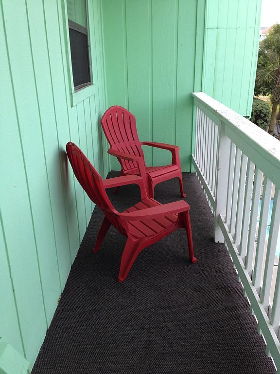 New Adirondeck chair @ north carolina beach rentals