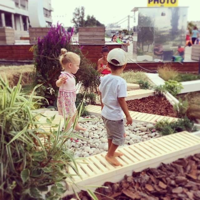 Сенсорный сад в Музеоне