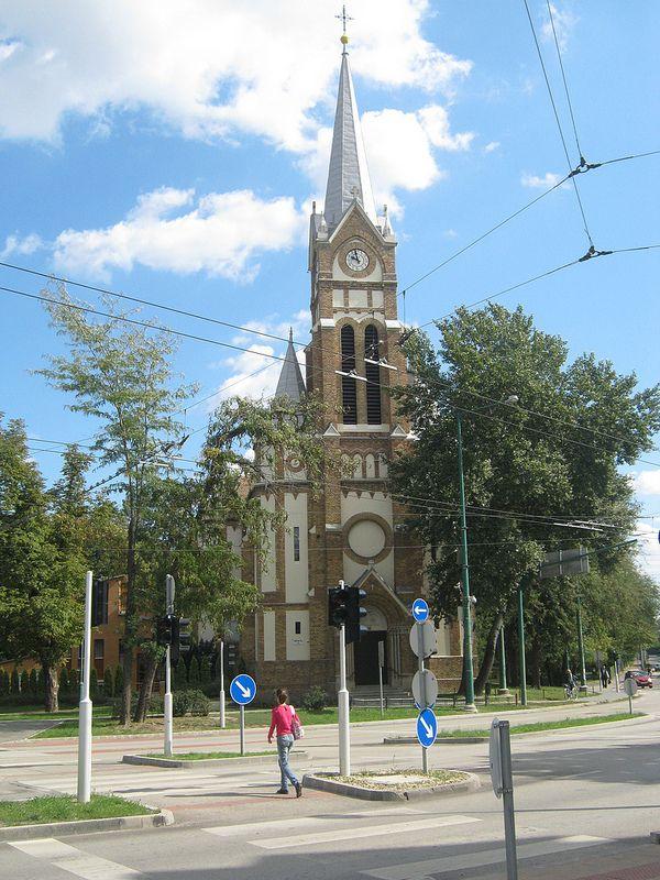 Elizabeth Church - Torontál Square, Újszeged, Szeged, Hungary