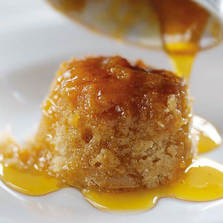 Little Syrup Sponge Puddings