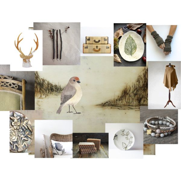 natural neutrals by insearchofwild on Polyvore featuring interior, interiors, interior design, dom, home decor and interior decorating