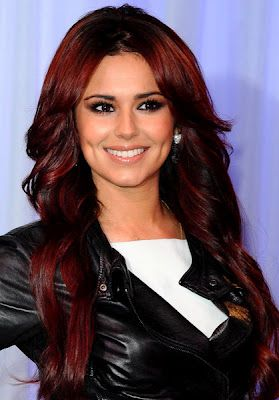 Cheryl Cole Red Hair Color | Hairstyley
