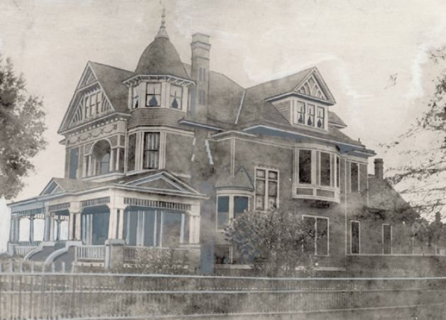 Historic homes of southeast texas texas for Home builders southeast texas