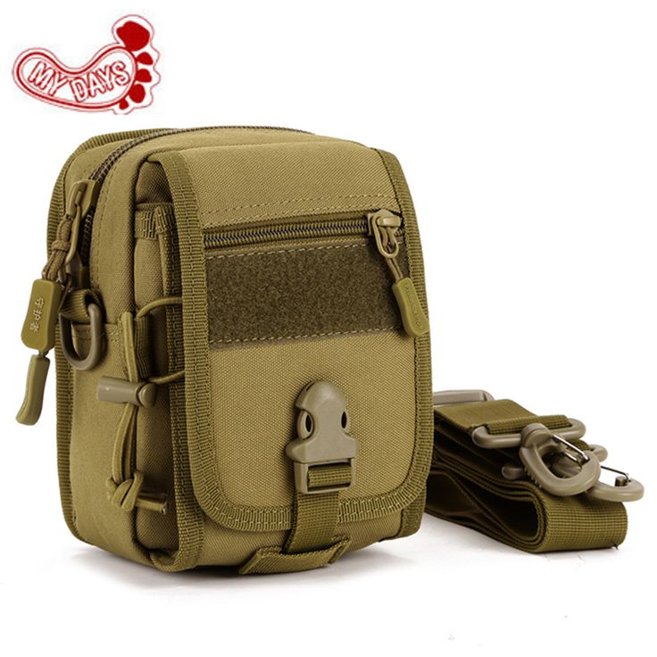 Out door Tactical Pouch multifunction mobile phone carda mini bag men woman Molle EDC Military Hunting single shoulder packs.