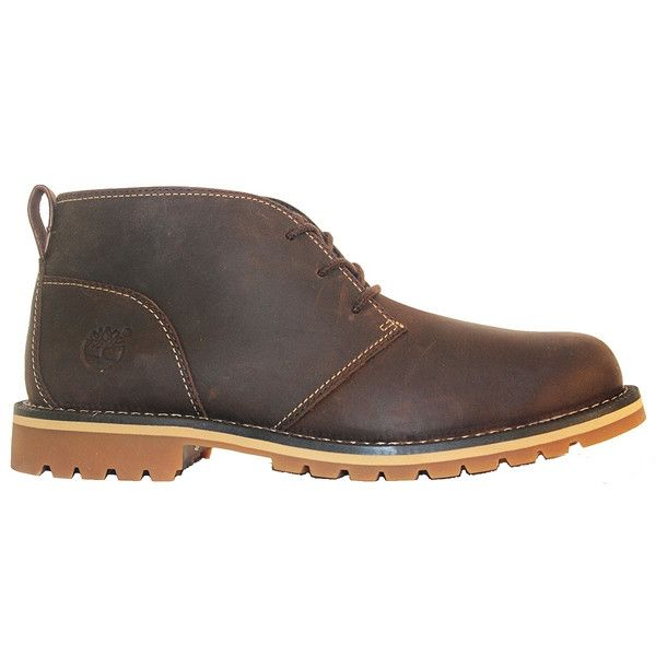 Timberland Earthkeepers Grantly  Dark Brown Oiled Leather Chukka Boot