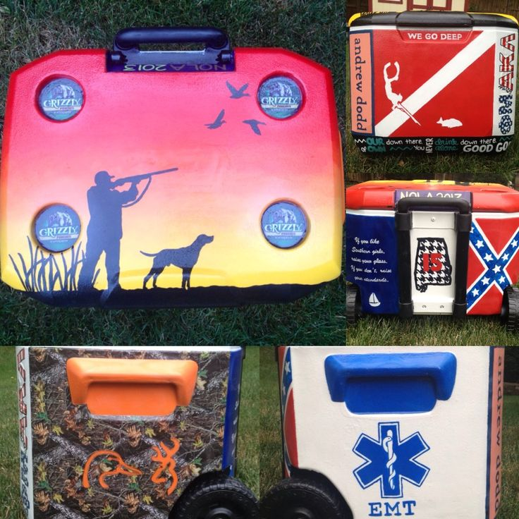 Pin By Kaelin Pratt On Coolers Formal Cooler Ideas Cooler Painting Fraternity Coolers
