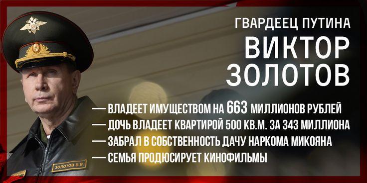 Эхо Москвы :: Блоги / Штрихи кпортрету гвардейца Путина: имущество на663 млн рублей, дача Микояна икинофильмы