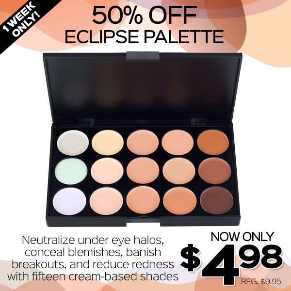 Hot Pot Sale is Here! Only¢ each at Coastal Scents– ONE WEEK ONLY! Individual eye shadows and concealers designed for creating your own custom palettes!