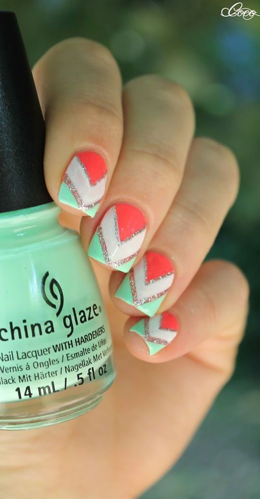 17 Best ideas about Easy Nail Designs on Pinterest   Easy nail art ...