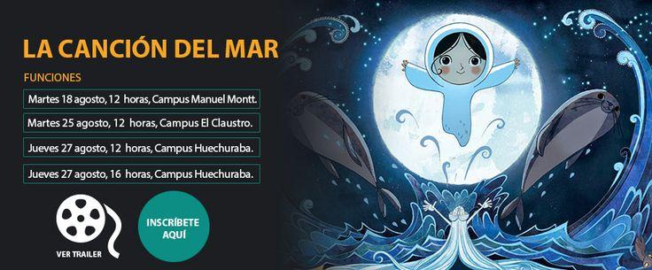 """""""La canción del Mar"""" a las 12 en El Claustro. Ven a verla con los compañeros que quieras #UMayor #ElClaustro"""