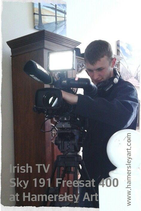 In July 2014 a team from IrishTV.ie visited the Hamersley Art studio. Watch the interview here http://mayotv.vzaar.me/1658660