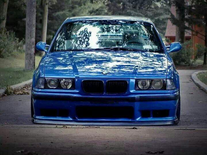 Bmw E36 M3 Blue Slammed Bmw Ultimate Driving Machine