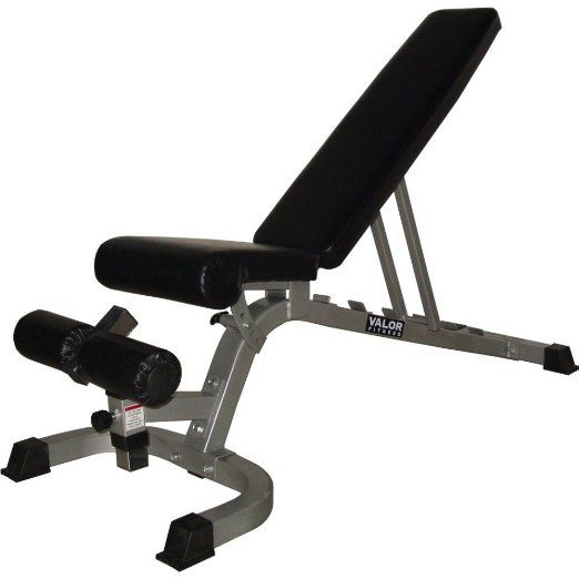 Valor Fitness DD-4 Flat Incline Decline FID Adjustable Utility Bench