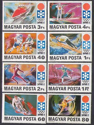 #Hungary 1971 olympics/sports/skiing/shooting/ice #hockey/skating 8v set #(n35122,  View more on the LINK: http://www.zeppy.io/product/gb/2/391619859490/