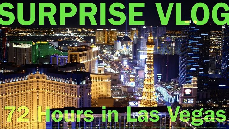 72 Hours in Las Vegas - staying on your home time zone