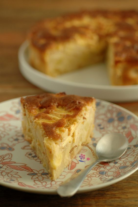 Gâteau madeleine aux pommes_4