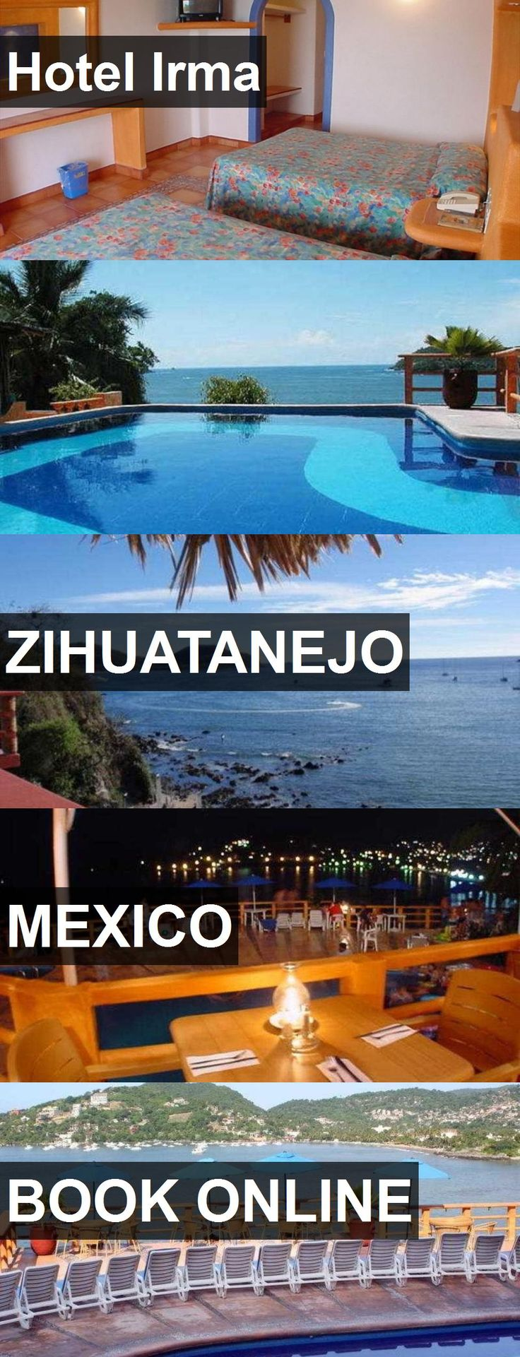 Hotel Hotel Irma in Zihuatanejo, Mexico. For more information, photos, reviews and best prices please follow the link. #Mexico #Zihuatanejo #HotelIrma #hotel #travel #vacation