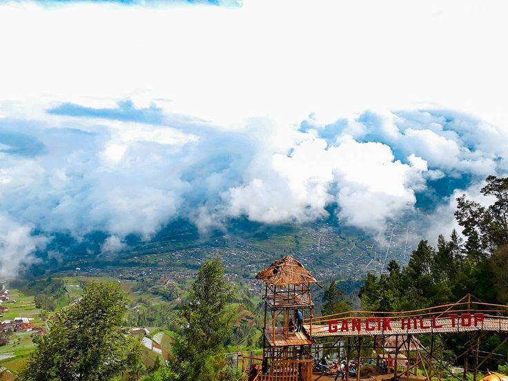 Bukit Gancik Boyolali Sensasi Berasa di Atas Awan - Jawa Tengah