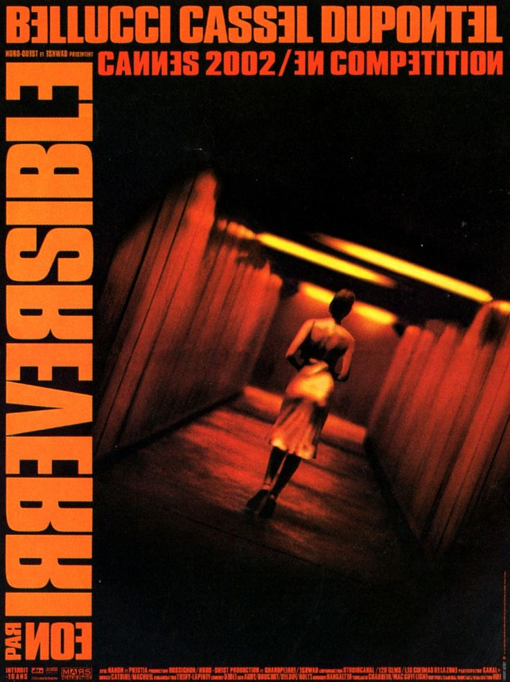 (5) Irréversible - Film (2002) - SensCritique  La pelicula mas jueputa que he visto, crudeza, ni siquiera Saló es tan fuerte