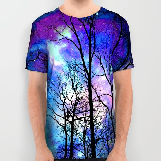 fantasy sky All Over Print Shirt