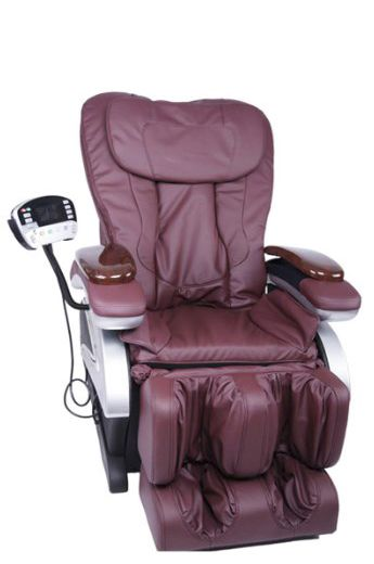 Electric Full Body Shiatsu Massage Chair Recliner w/Heat Stretched Foot Rest 06C This chair is among the few models that provide the convenience of an ultra-long range massage