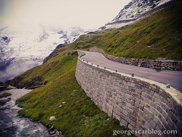 Grossglockner Mountain Road by Georg Liigand, via Flickr