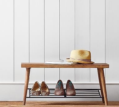 Lucy Shoe Rack. Pottery Barn