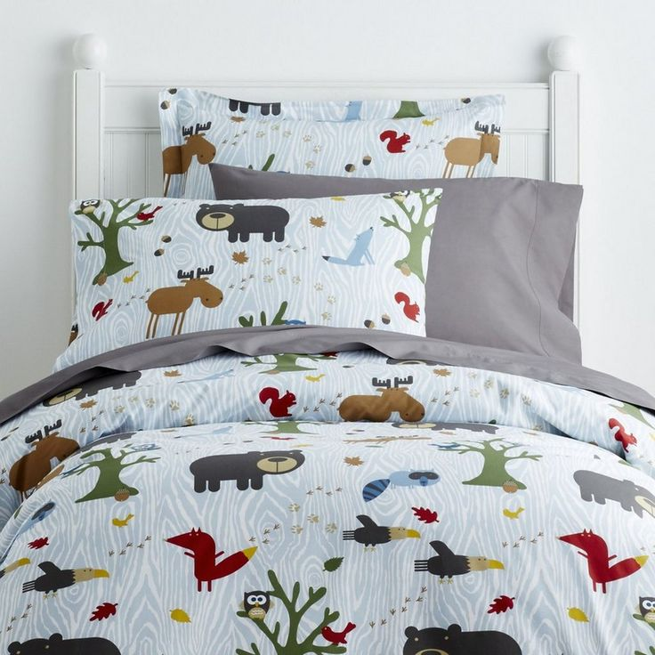 Woodland Kids Bedding