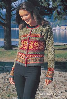 Ravelry: 67-20 Fair Isle cardigan pattern by DROPS design