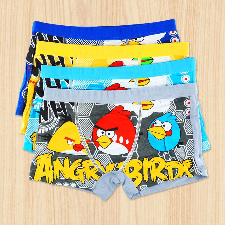Boys angry birds cotton undies $2.45 from Aliexpress