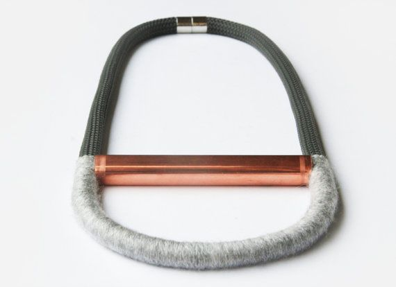 #myLifebox | GRAY AMSTERDAM. #statementjewellery #necklace #copper #grey #fashion #style