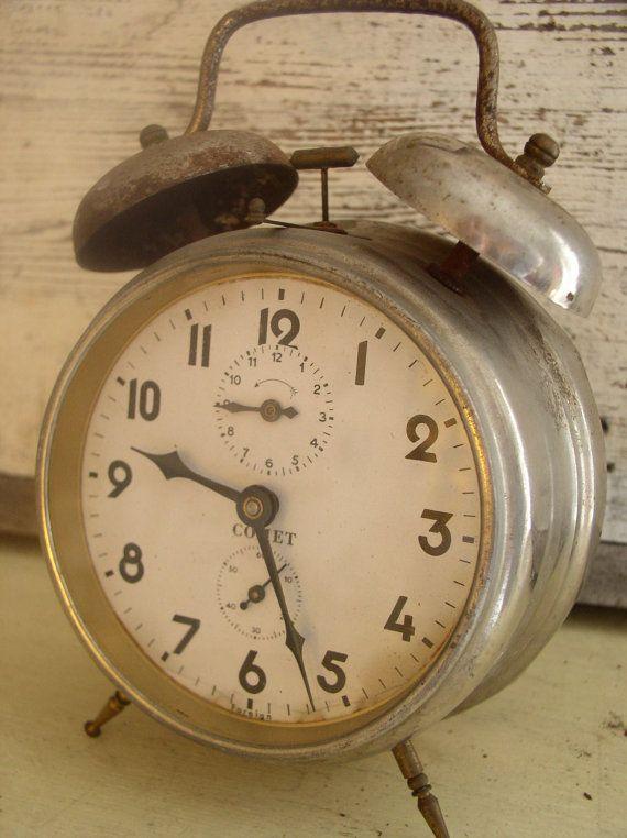 vintage alarm clock | Vintage | Pinterest