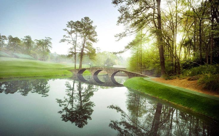 Augusta National.  Home of the Masters! One of the most beautiful places I have been.