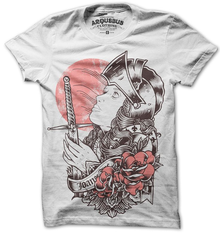 WANT: New Orleans, Orleans T Shirts, Orleans Tees, T Shirts Arquebuscloth, Joan Of Arc, Maids, Arquebus Clothing, Products, Clothing Tees