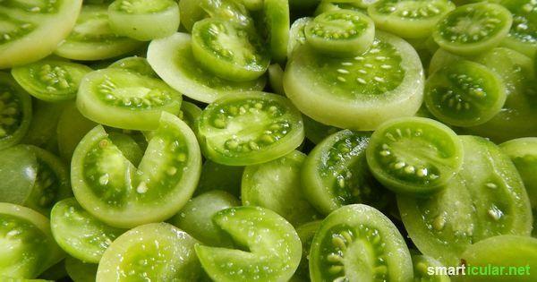 Grüne Tomaten musst du nicht wegwerfen! Mit diesen leckeren Rezepte verwandelst du sie in ganz besondere Geschmackserlebnisse.
