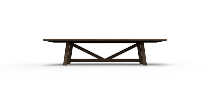 Contemporary refectory table by Cruikshank