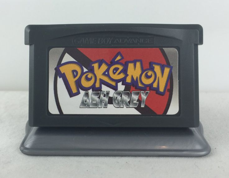 Pokemon Ash Grey - Nintendo GBA Homebrew - $18.00